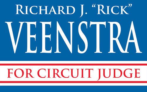 Rick Veenstra for Circuit Judge